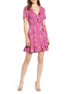 PAIGE Cardamom Wrap Dress