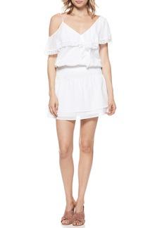 Paige Denim PAIGE Cecelia Cold Shoulder Minidress