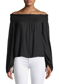 Paige Denim PAIGE Cherita Off-the-Shoulder Top