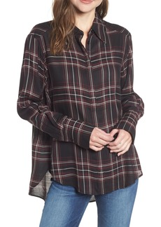 Paige Denim PAIGE Clemence Plaid Blouse