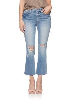 Paige Denim PAIGE Colette High Waist Crop Flare Jeans (Janis Destructed)