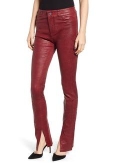 Paige Denim PAIGE Constance Leather Skinny Pants
