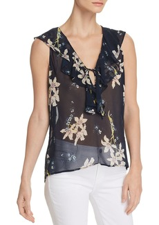 Paige Denim PAIGE Danae Sheer Floral Top