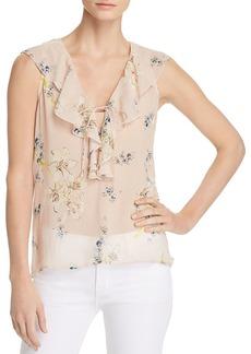 Paige Denim PAIGE Danae Sheer Floral Top