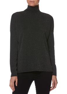Paige Denim PAIGE Darby Metallic Turtleneck Sweater