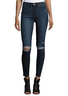 Paige Denim Hoxton Destructed Ankle Jeans