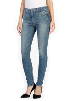 Paige Denim Hoxton High Waist Ultra Skinny Jeans (Big Sur)
