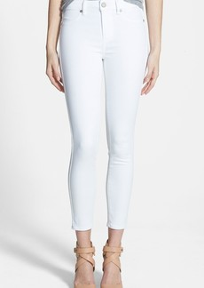 Paige Denim Hoxton High Waist Skinny Jeans (Ultra White)