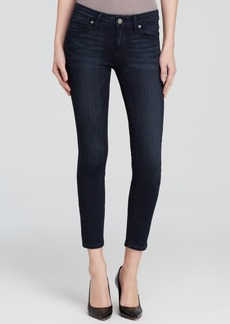 Paige Denim Jeans - Transcend Verdugo Crop in Midlake