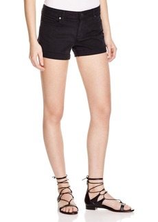 Paige Denim Jimmy Jimmy Shorts in Vintage Black