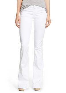 Paige Denim 'Lou Lou' Flare Jeans (Ultra White)