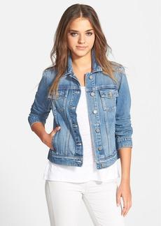 Paige Denim 'Rowan' Crop Denim Jacket (Calloway)