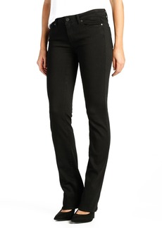 Paige Denim 'Transcend - Skyline' Straight Leg Jeans (Black Shadow)