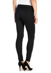 Paige Denim Transcend Verdugo Ankle Skinny Jeans (Night Shadow Embroidery)