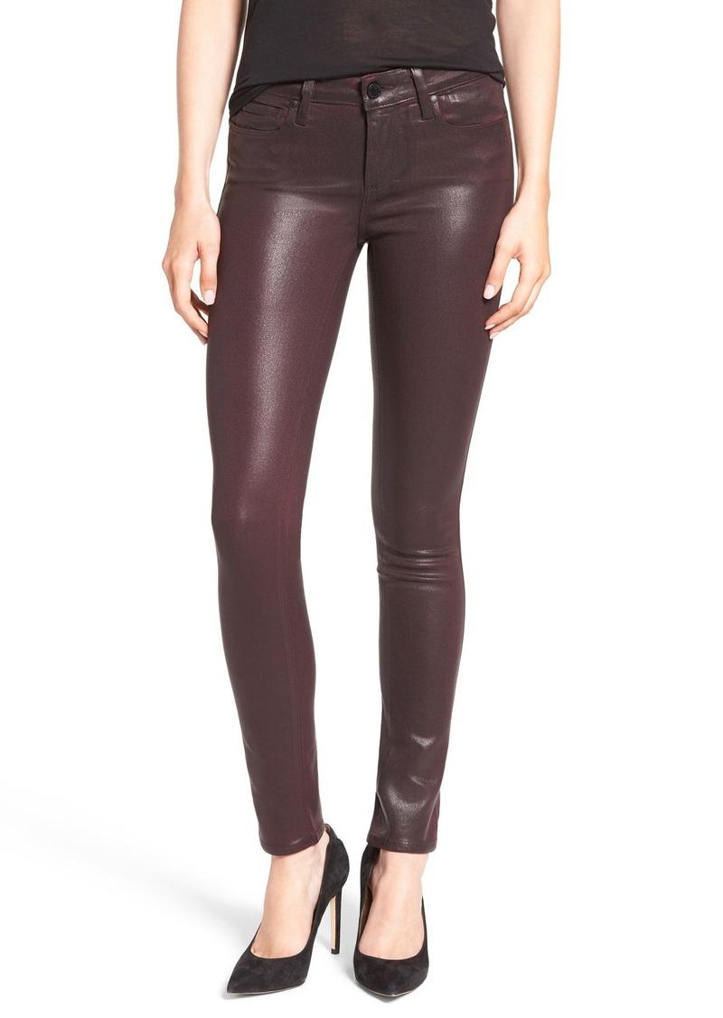 Paige Denim 'Transcend - Verdugo' Coated Ultra Skinny Jeans