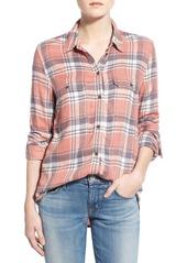 Paige Denim 'Trudy' Plaid Shirt