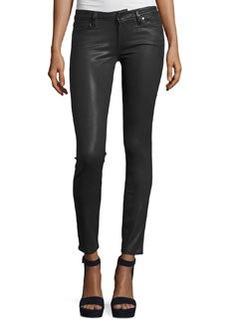 Paige Denim Verdugo Coated Ultra-Skinny Jeans