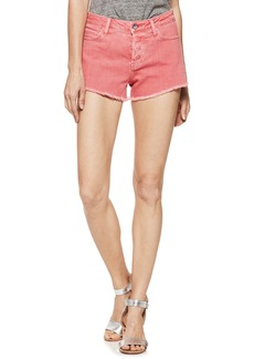 Paige Denim PAIGE Emmit Relaxed Denim Shorts (Vintage Coral Reef)