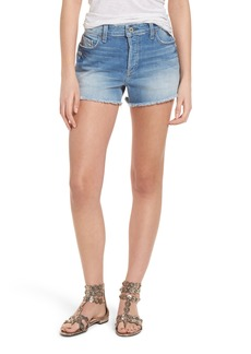 Paige Denim PAIGE Emmitt High Waist Cutoff Denim Shorts (Janis Destructed)