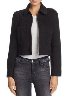 Paige Denim PAIGE Evelyn Zip-Front Denim Jacket