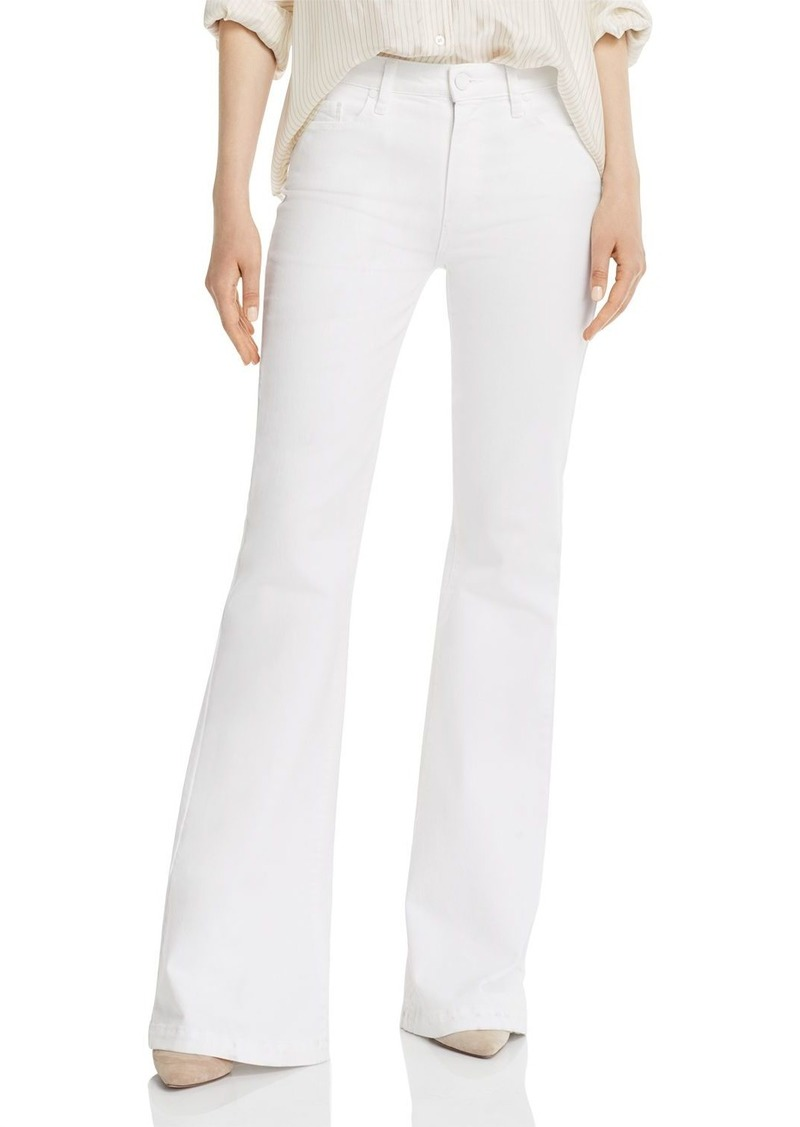 PAIGE Genevieve Jeans in Crisp White - 100% Exclusive