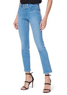 PAIGE Hidden Hills High Waist Ankle Straight Leg Jeans (Brandi)