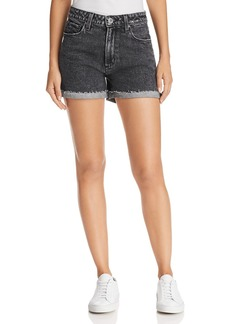 Paige Denim PAIGE High Rise Sarah Denim Shorts in Zephra