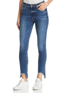 Paige Denim PAIGE Hoxton High-Rise Ankle Skinny Jeans in Hannie