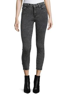 Paige Denim PAIGE Hoxton High-Rise Skinny-Leg Crop Jeans