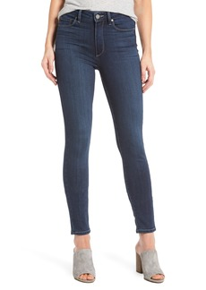 PAIGE Transcend Hoxton High Waist Ankle Skinny Jeans (Charing) (Nordstrom Exclusive)