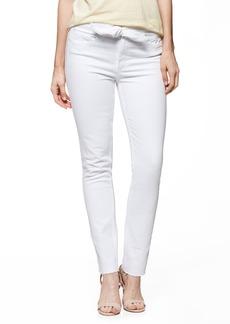Paige Denim PAIGE Hoxton High Waist Ankle Skinny Jeans (Crisp White)