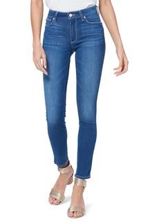 PAIGE Hoxton High Waist Ankle Skinny Jeans (Isle)