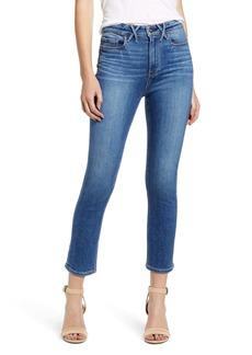 PAIGE Hoxton High Waist Ankle Slim Jeans (Riptide)