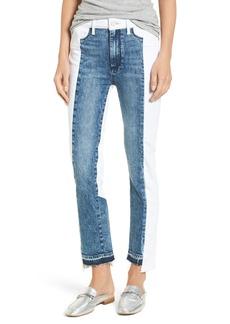 Paige Denim PAIGE Hoxton High Waist Ankle Straight Leg Jeans (Agnes)