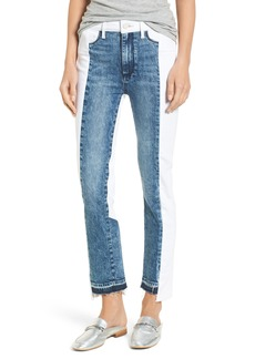PAIGE Hoxton High Waist Ankle Straight Leg Jeans (Agnes)