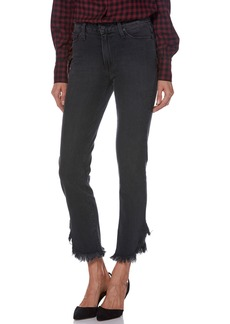Paige Denim PAIGE Hoxton High Waist Ankle Straight Leg Jeans (Moonlight Fog)