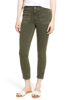 Paige Denim PAIGE Hoxton High Waist Ankle Skinny Jeans (Vintage Forest Night)