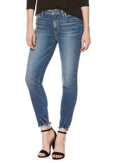 Paige Denim PAIGE Hoxton High Waist Crop Skinny Jeans (Addler Blue)