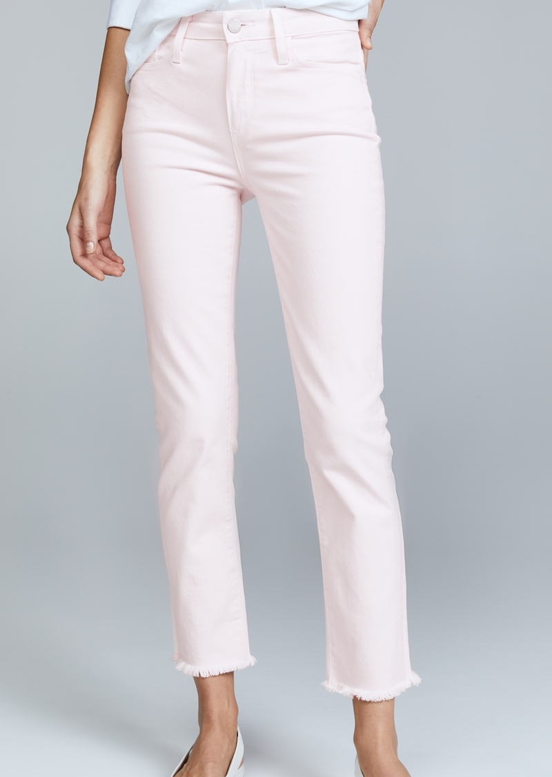 PAIGE Hoxton Straight Ankle Jeans