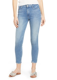 Paige Denim PAIGE Hoxton Transcend Vintage High Waist Crop Skinny Jeans (Atterbury)