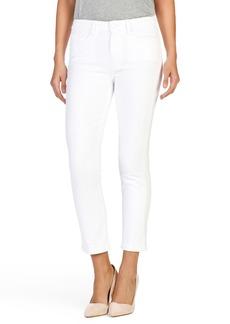 Paige Denim PAIGE Jacqueline High Rise Crop Straight Leg Jeans (Crisp White)