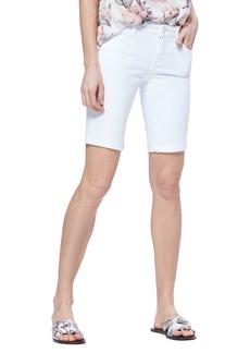 Paige Denim PAIGE Jax Denim Bermuda Shorts (Crisp White)