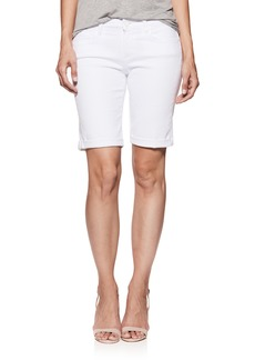 Paige Denim PAIGE Jax Denim Bermuda Shorts (Crisp White)