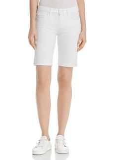 Paige Denim PAIGE Jax Denim Bermuda Shorts in Crisp White