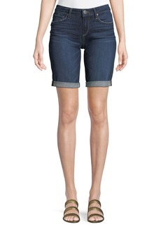 Paige Denim Jax Knee-Length Denim Shorts