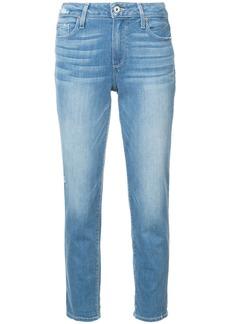 Paige Denim Paige Jimmy cropped boyfriend jeans - Blue