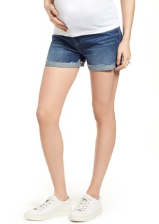 Paige Denim PAIGE Jimmy Jimmy Cuff Denim Maternity Shorts (Kylen)