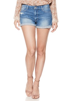 Paige Denim PAIGE Jimmy Jimmy Cutoff Denim Shorts (Finnick Destructed)