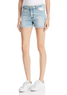 Paige Denim PAIGE Jimmy Jimmy Denim Shorts in Bethel Destructed