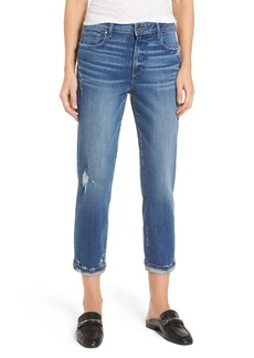 Paige Denim PAIGE Jimmy Jimmy High Waist Crop Boyfriend Jeans (Ludlow Destructed)
